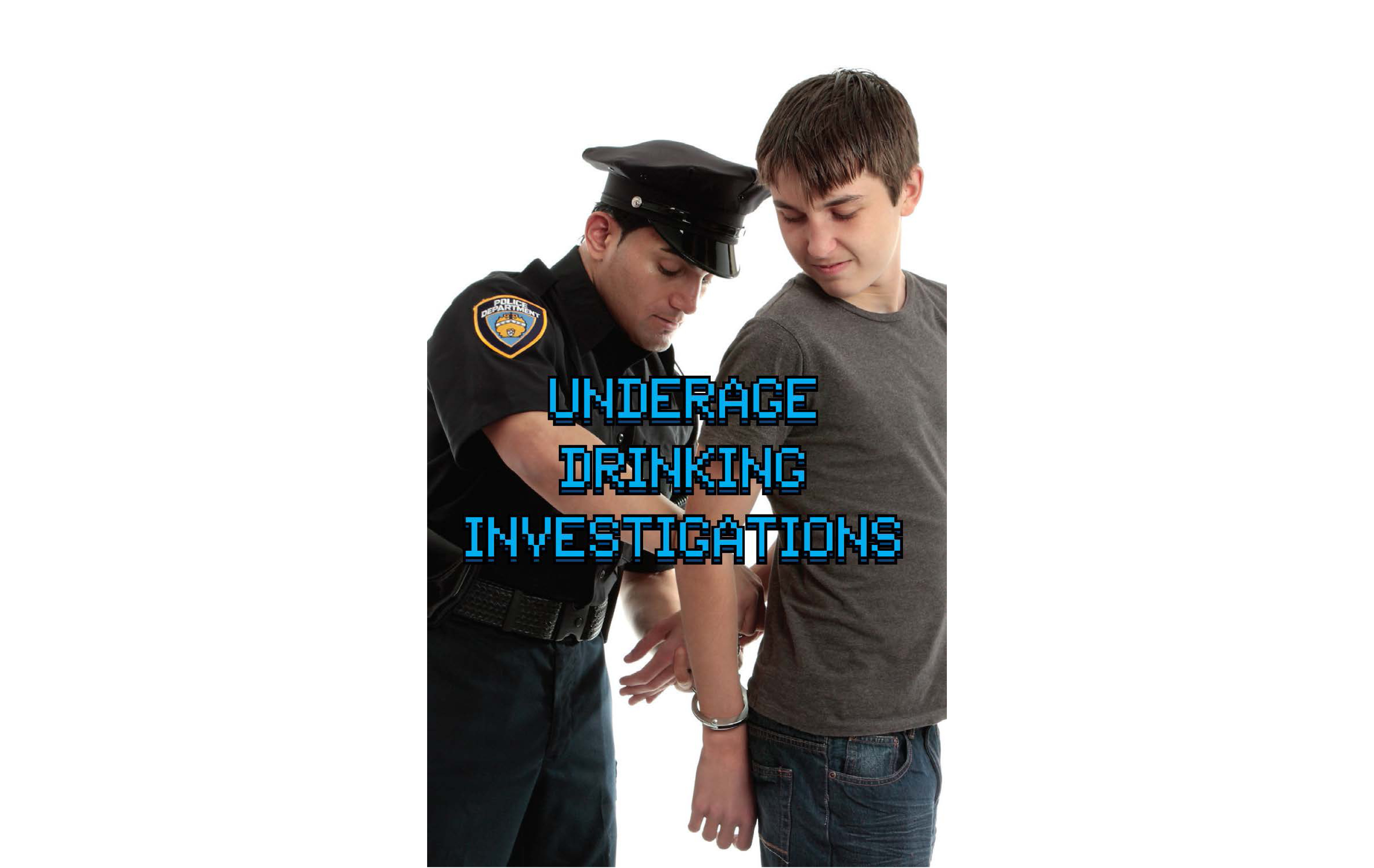 Underage Drinking Investigations Pocket Notebook