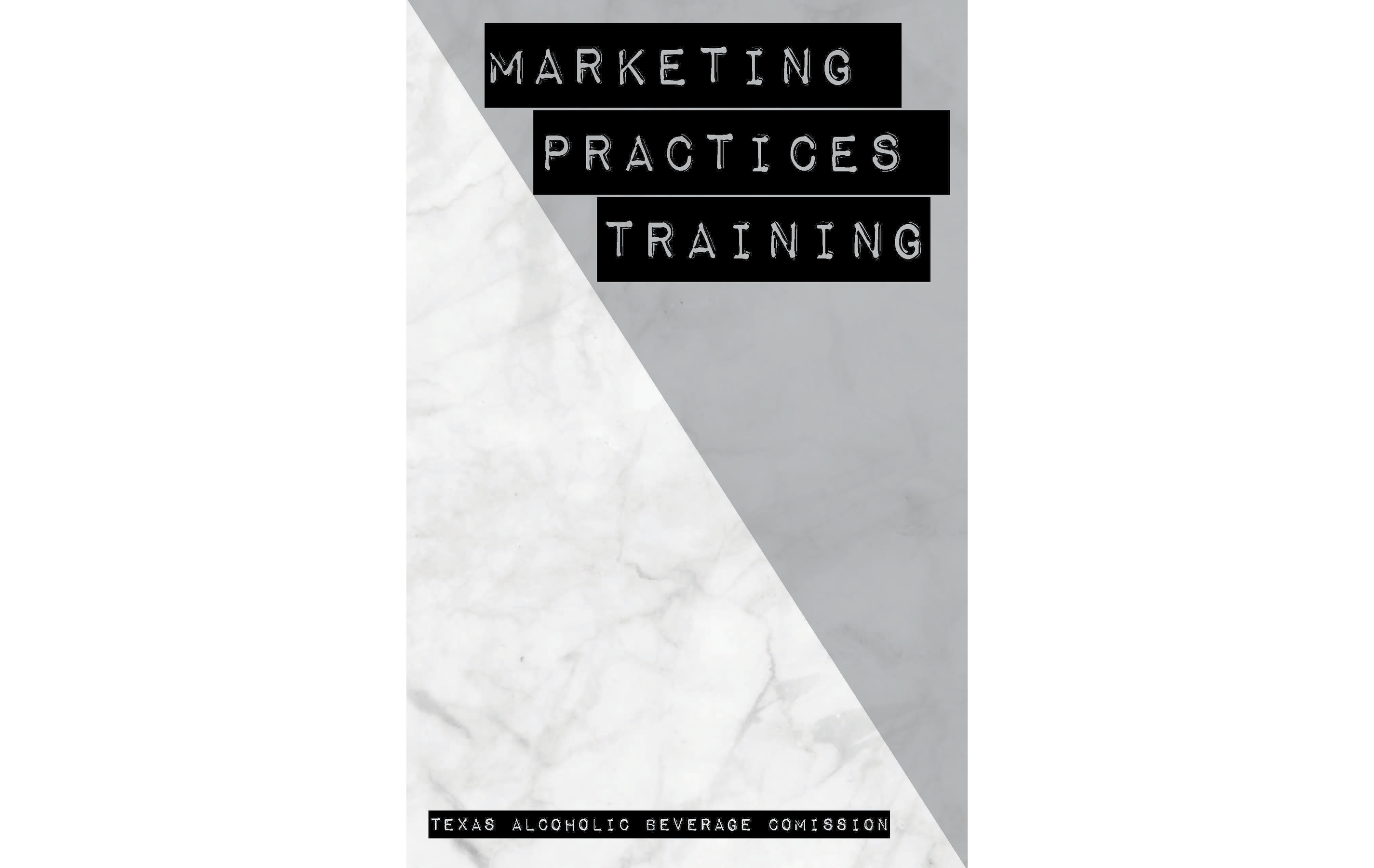 Marketing Practices Training Notebook