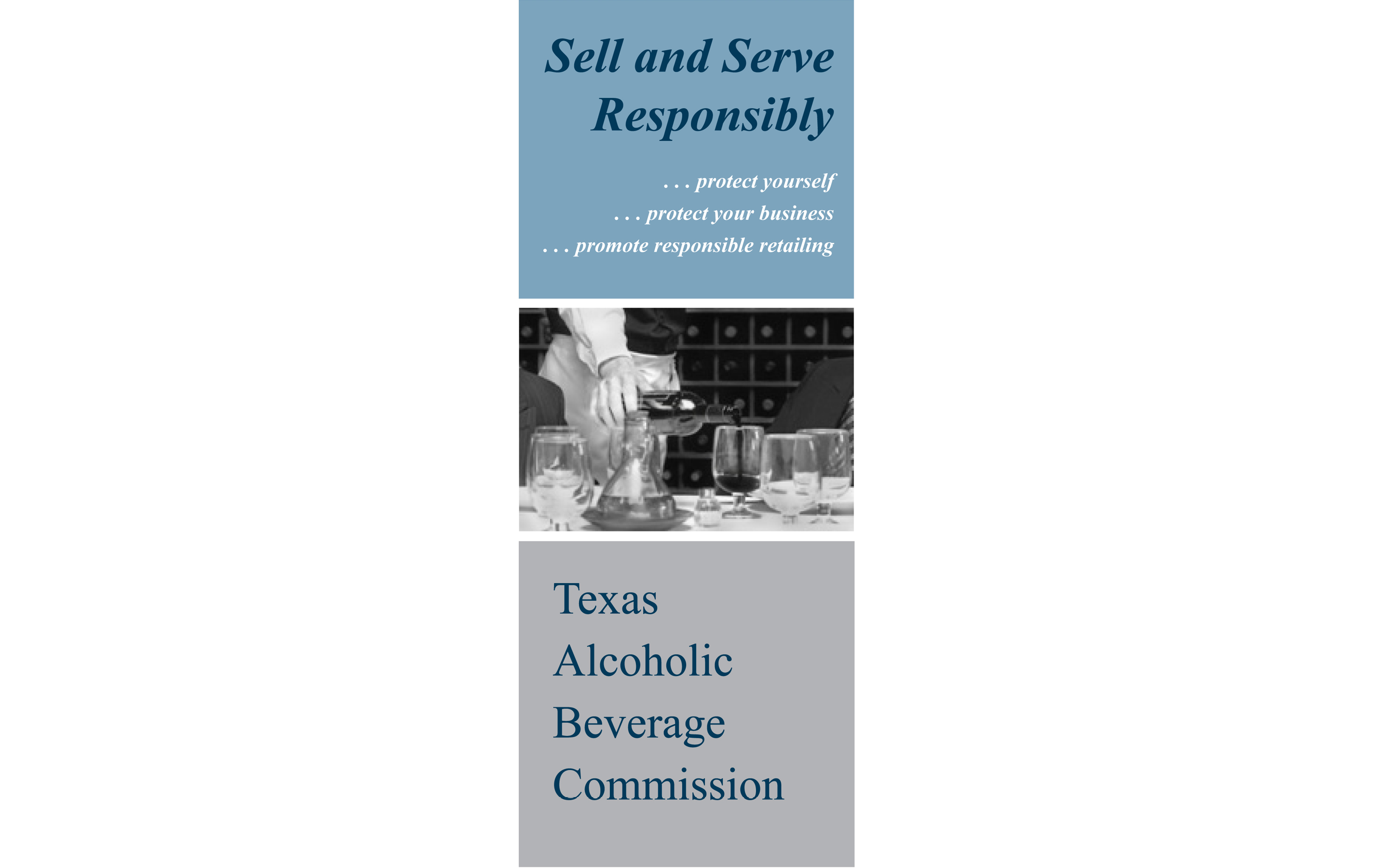 Sell and Serve Responsibly Brochure