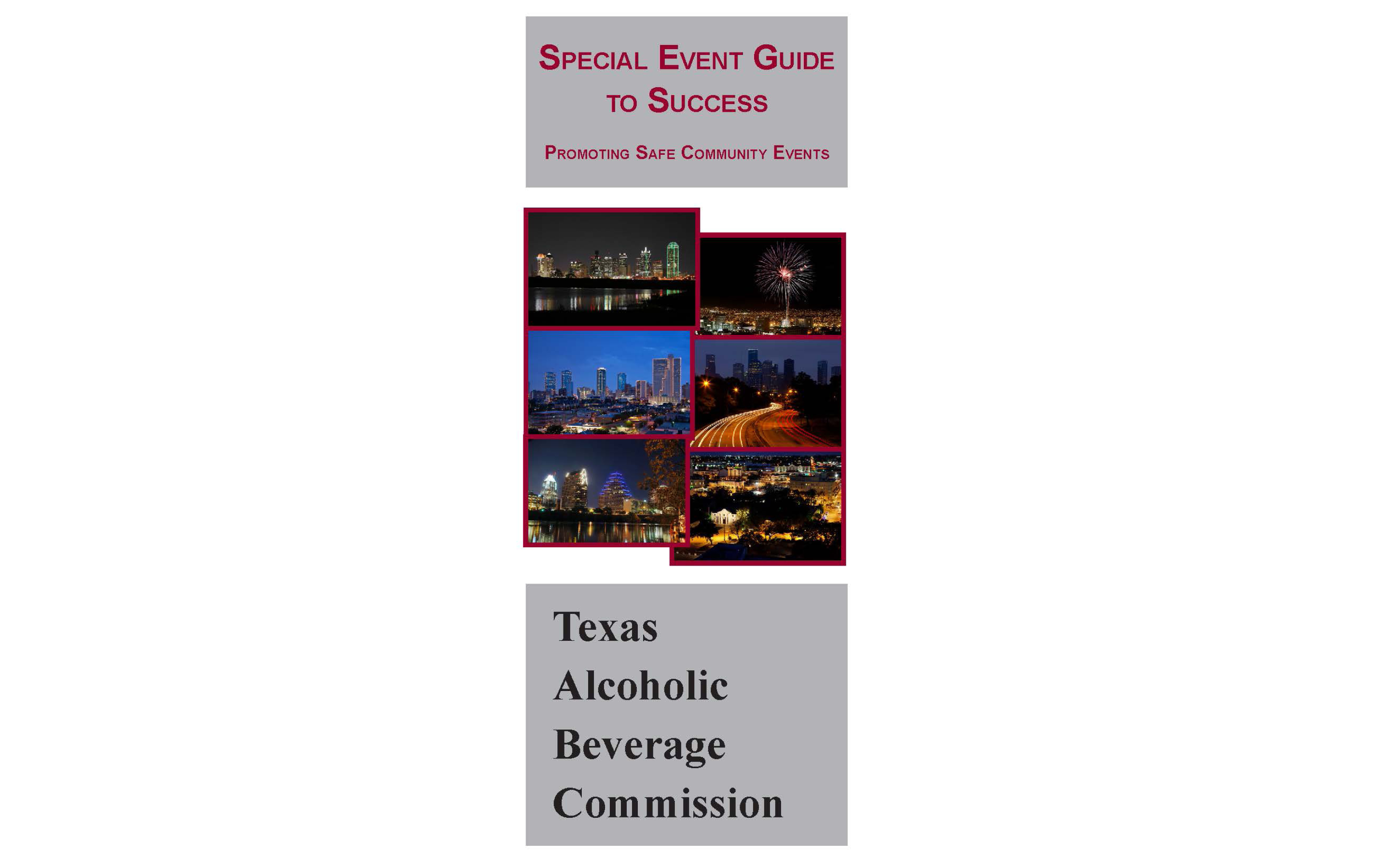 Special Events Guide to Success Brochure