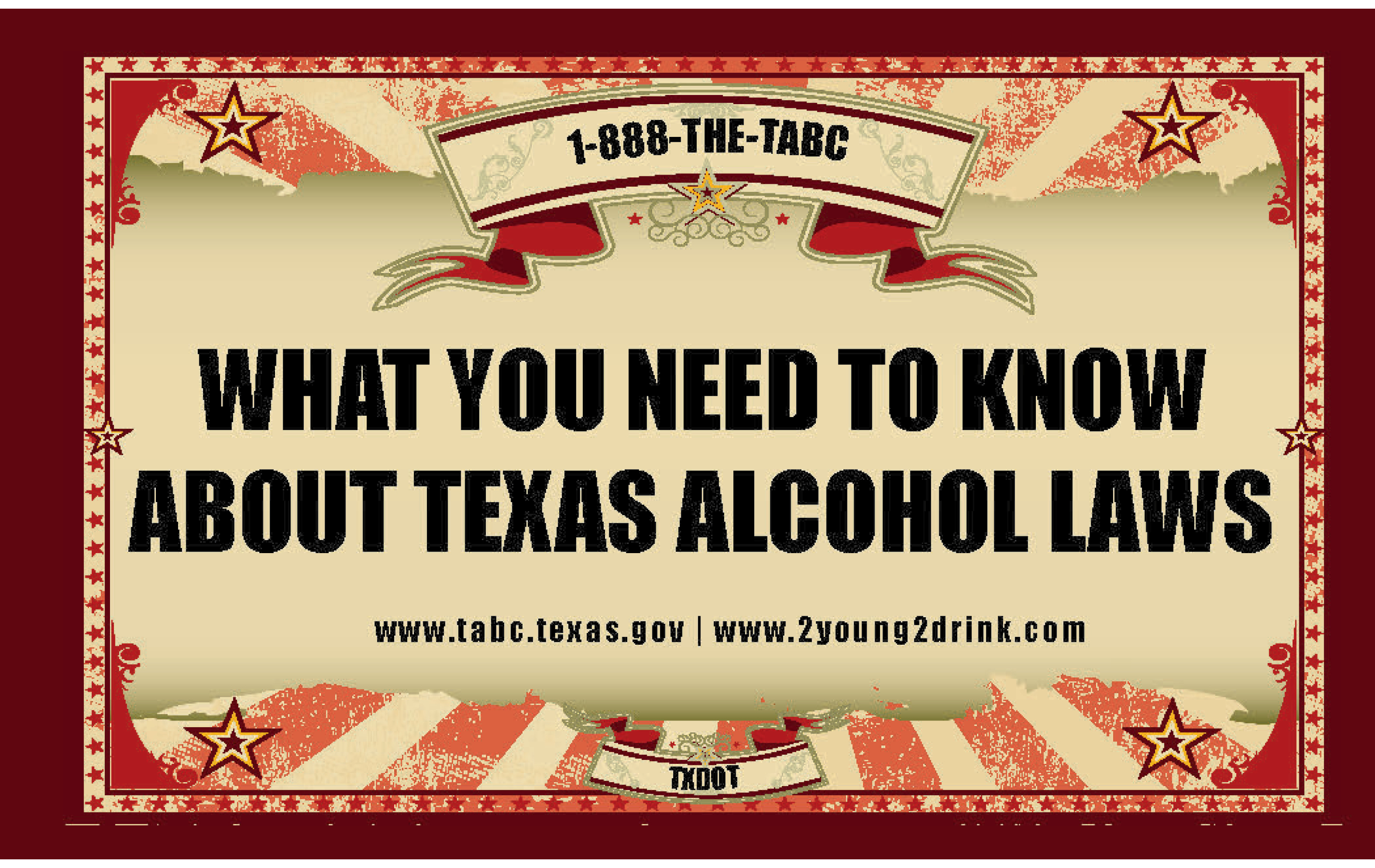 Not So Fun House – Texas Alcohol Laws Booklet
