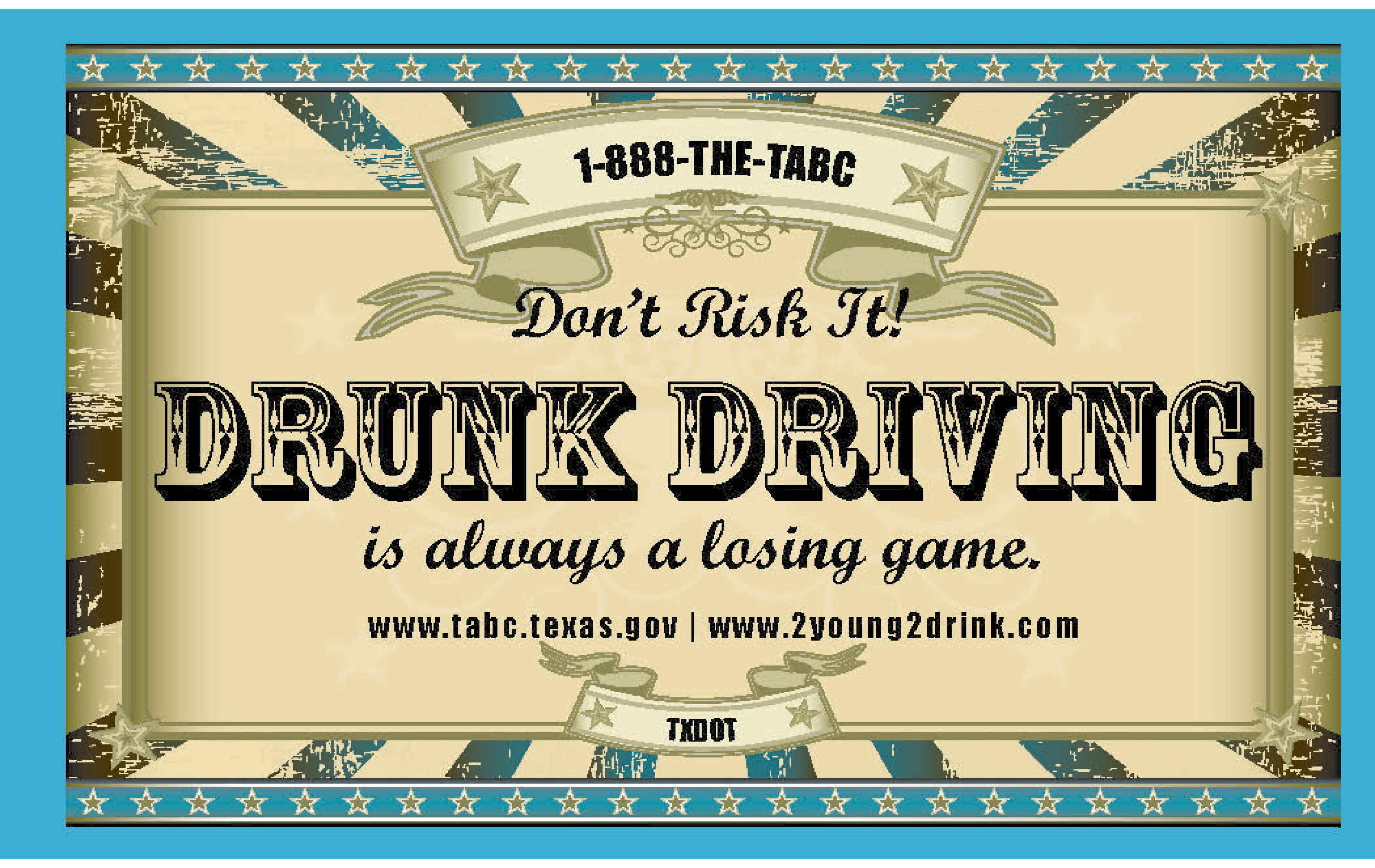 Not So Fun House – Drinking and Driving Booklet