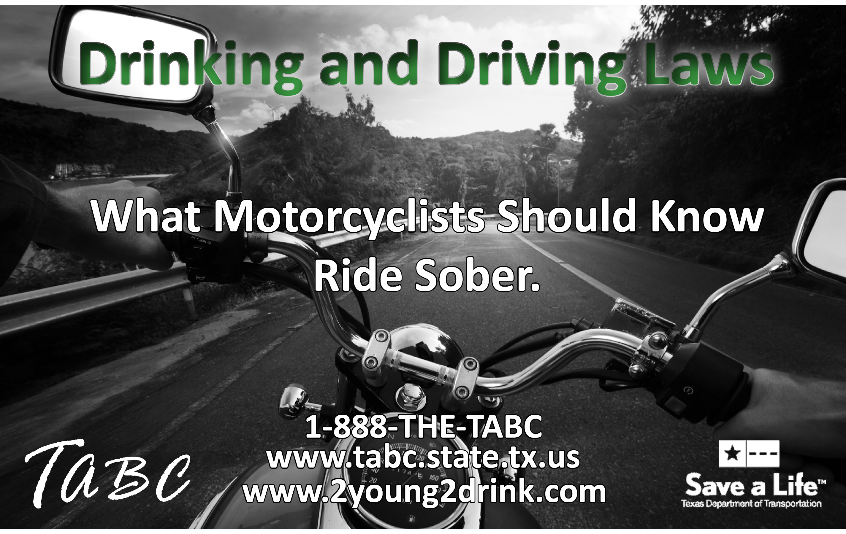 Motorcycle Drinking and Driving Booklet