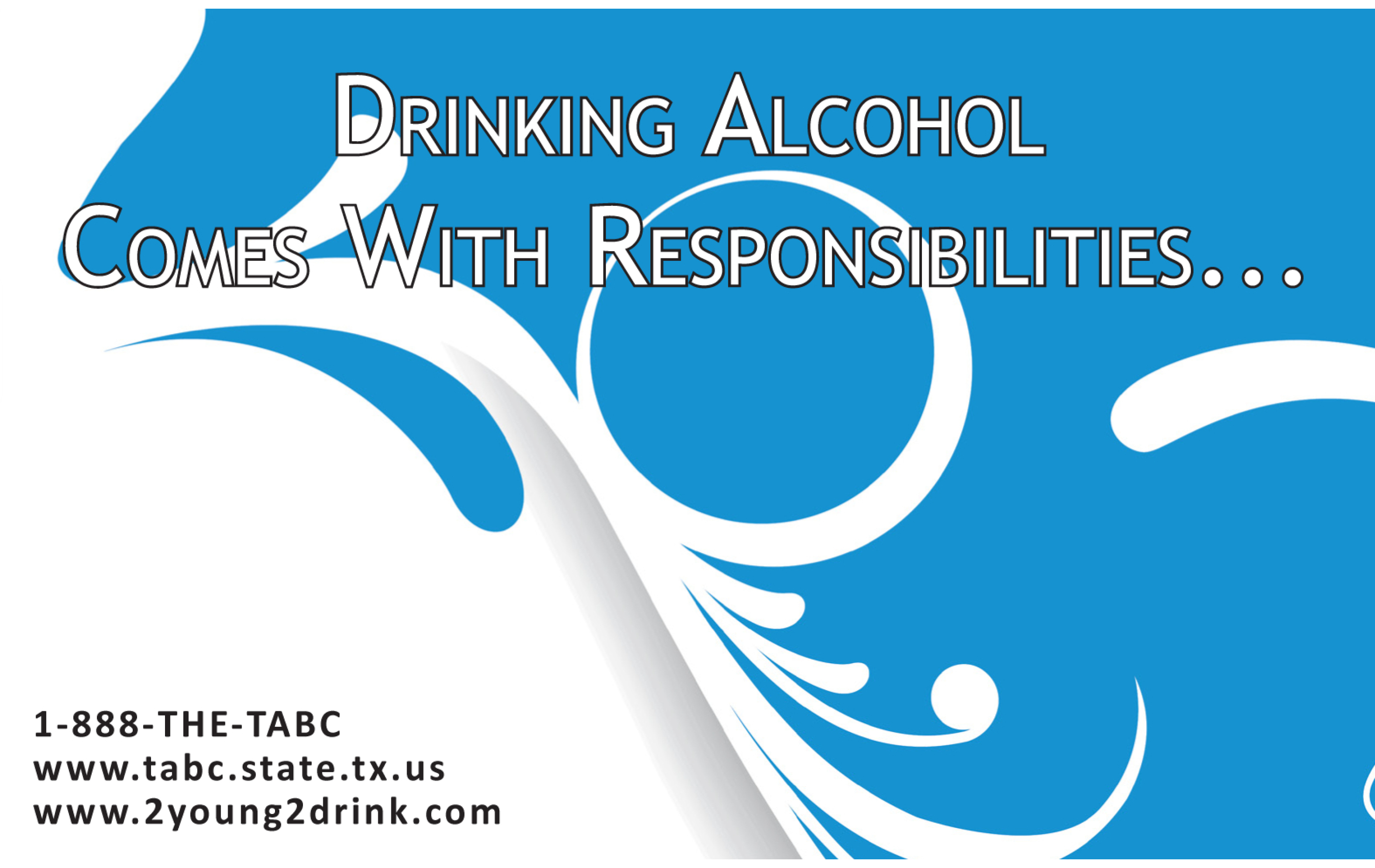 Drinking Alcohol Comes With Responsibilities – Student Booklet