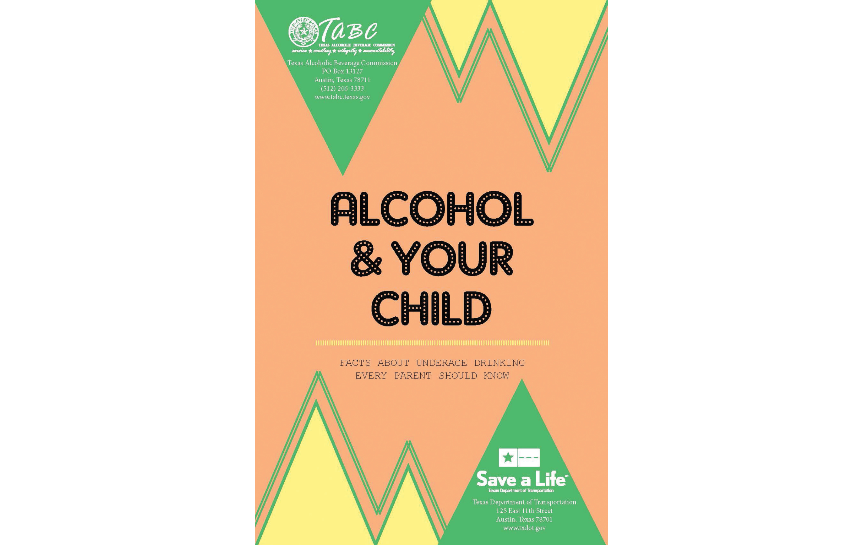 Alcohol and Your Child