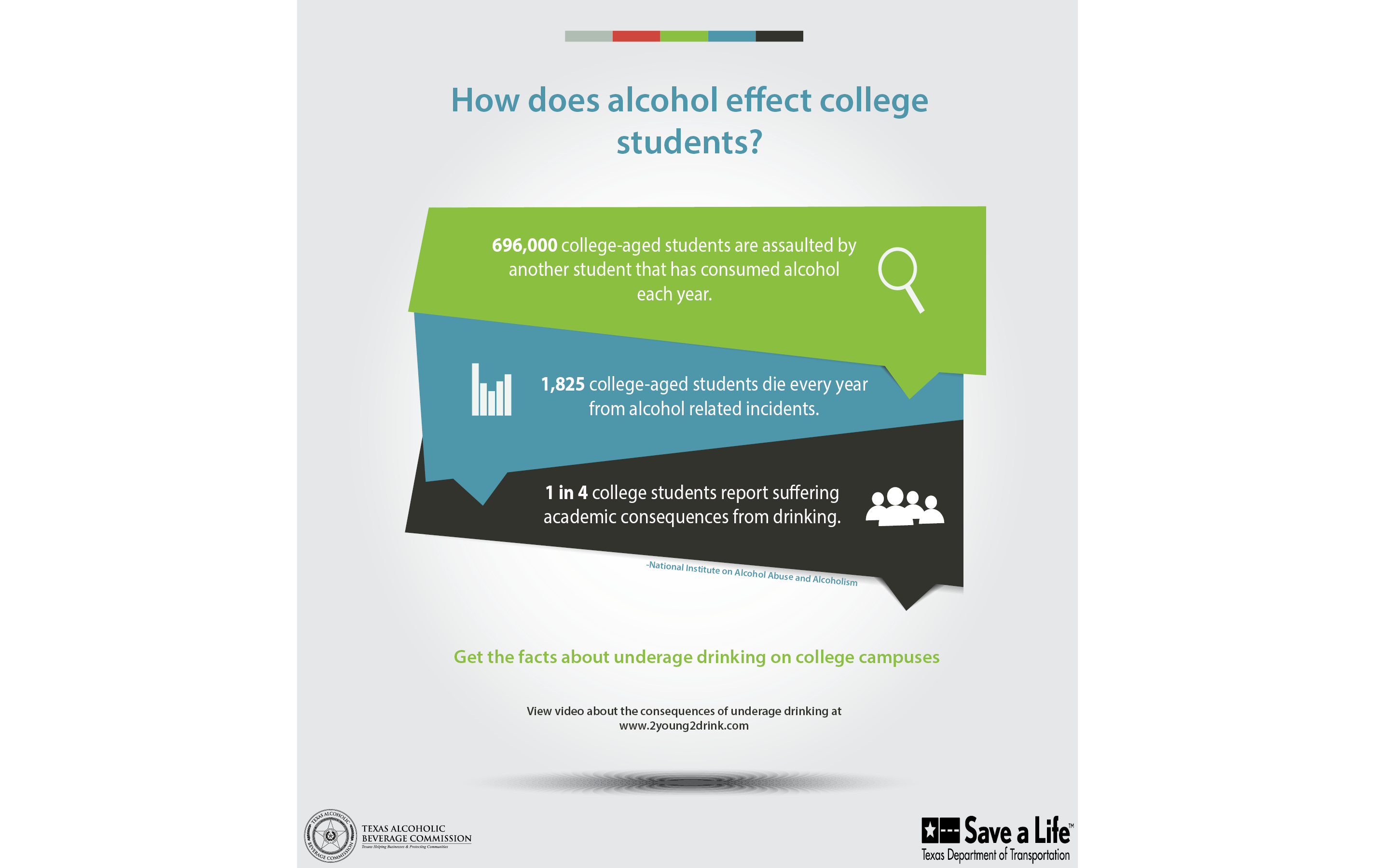 How Does Alcohol Effect College Flyer