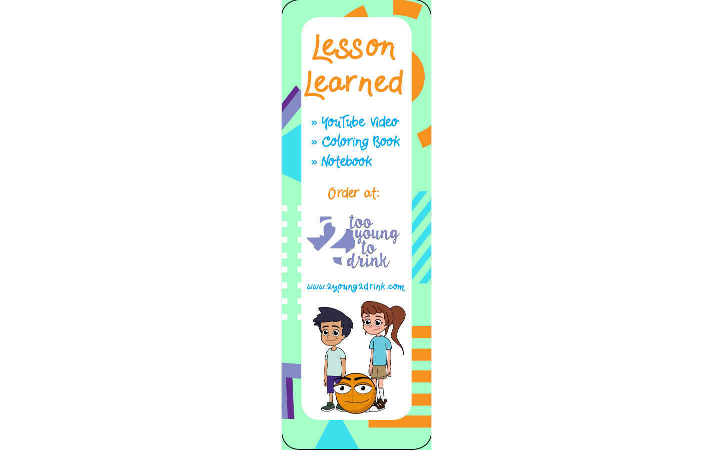 Lesson Learned Bookmark