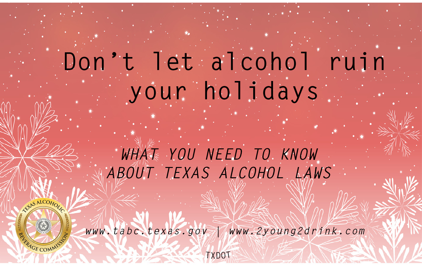 Holiday Alcohol Laws Booklet