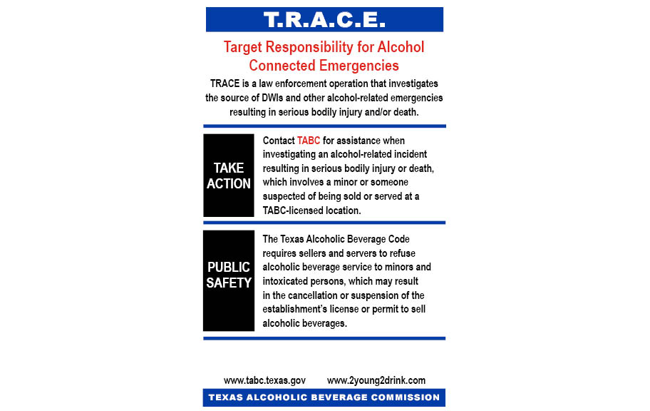 TRACE Information Card