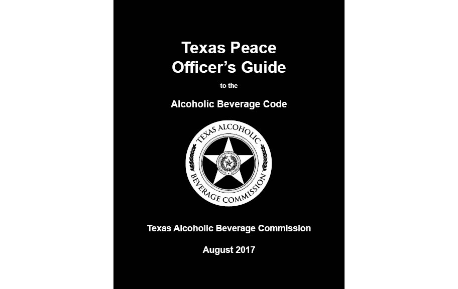 Texas Peace Officer's Guide 2017