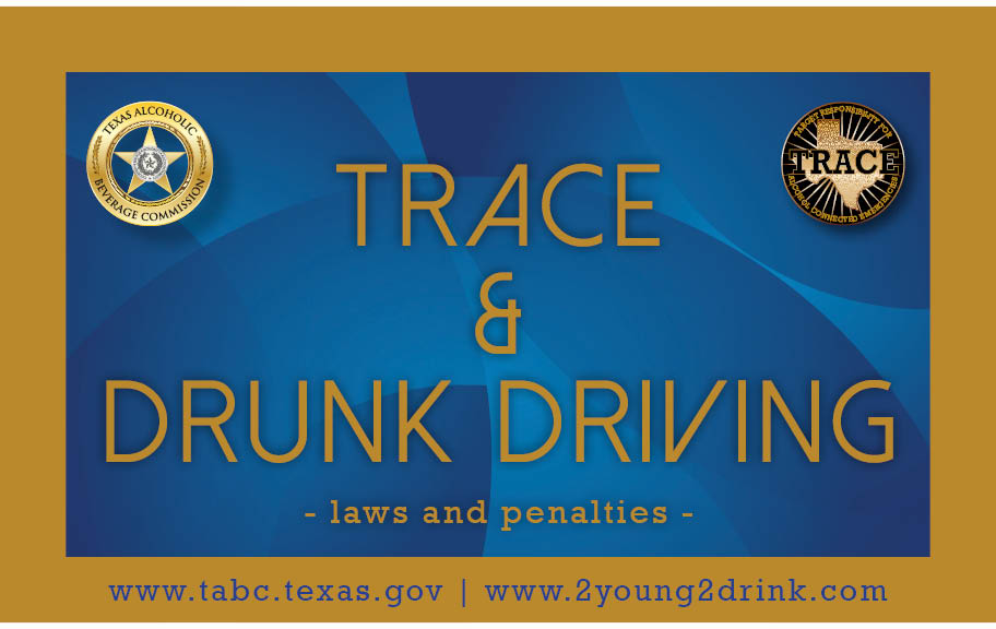 TRACE Drinking and Driving Booklet