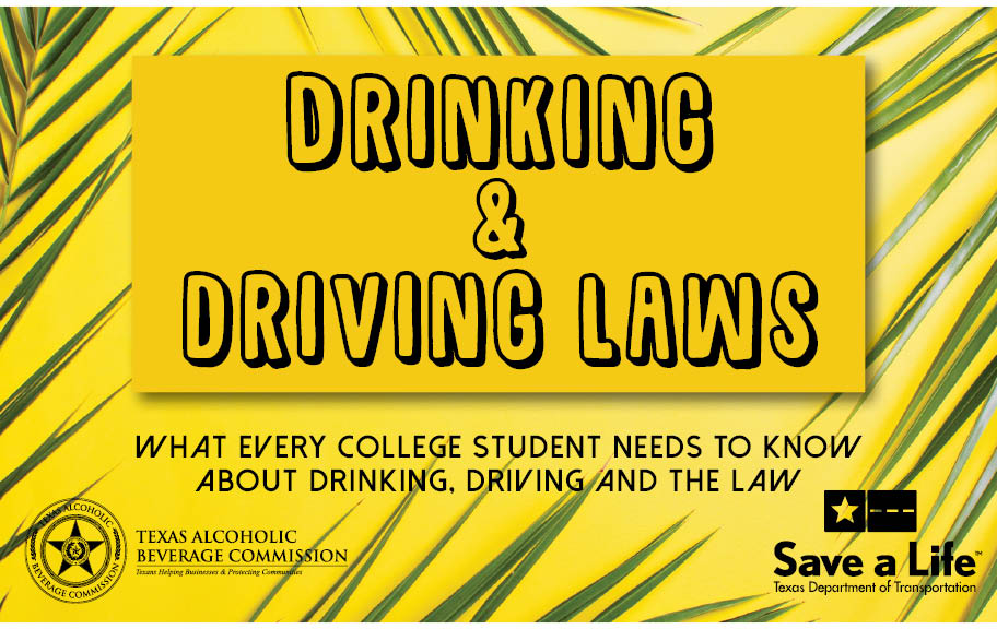 College Drinking and Driving Booklet
