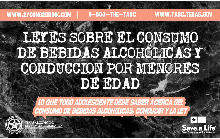 Teen Drinking and Driving Booklet (Spanish)