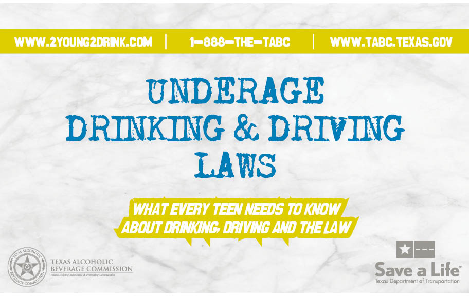 Teen Drinking and Driving Booklet (English)