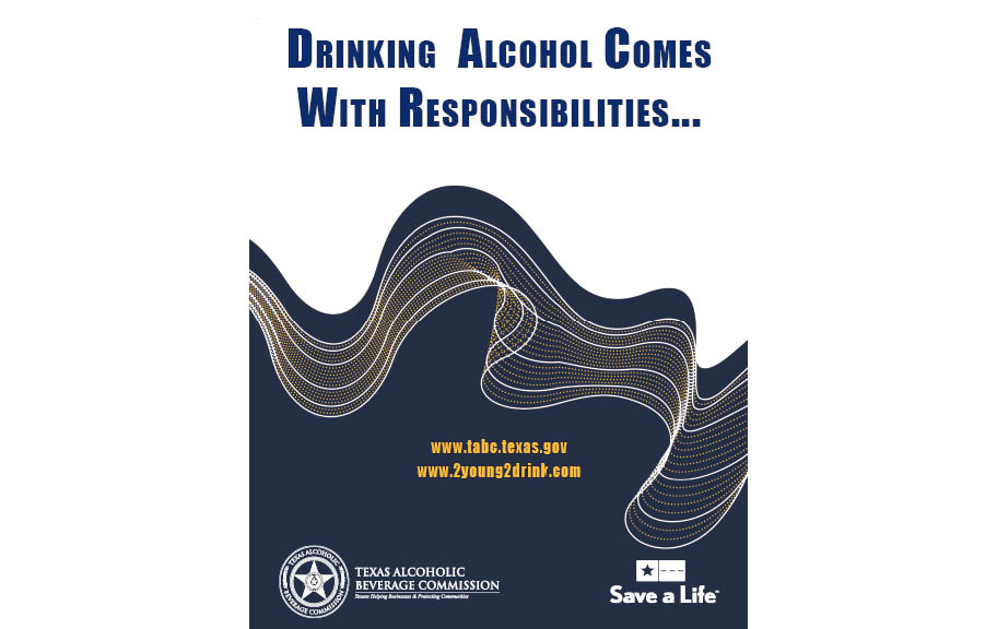Drinking Alcohol Comes With Responsibilities – Trainer Book