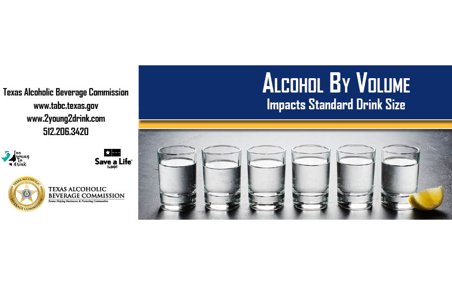 Alcohol By Volume Flyer